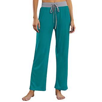 Women Dance Yoga Pants Sports Leg Pants Trousers Straight Leg