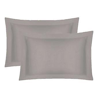 200 tråd egyptisk bomuld Oxford Pillow sag par pude i farver