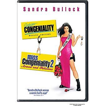 Importazione USA Miss Congeniality/Miss Congeniality 2 [DVD]