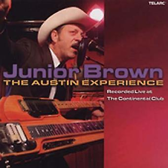 Junior Brown - Live at the Continental Club-Austin Experience [CD] USA import
