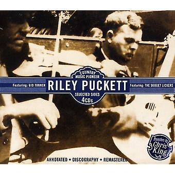 Riley Puckett - Country Music Pioneer Featuring Gid Tann [CD] USA import
