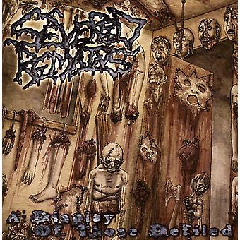 Severed Remains - Display of Those Defiled [CD] USA import