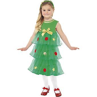 Weihnachtsbaum Kostüm Kleid KINDER Tannenbaum