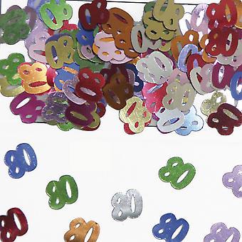 Tabela numer 80 konfetti ozdoba konfetti urodzinowe