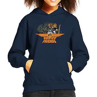 Dexters laboratorium rättvisa vänner Kid är Hooded Sweatshirt