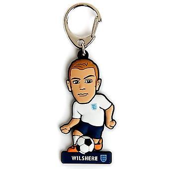 England FA PVC Keyring Wilshere