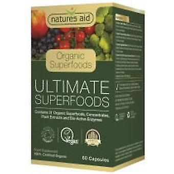 Natures Aid Superfoods ultime (Organic) 60 caps