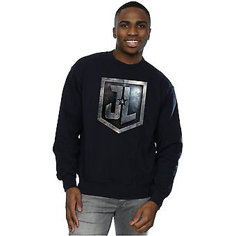 DC Comics Men's Justice League Movie Shield Sweatshirt