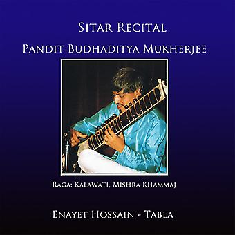 Mukherjee, Budhadiyta / Hossain, Enayet - Sitar overweging [CD] USA import