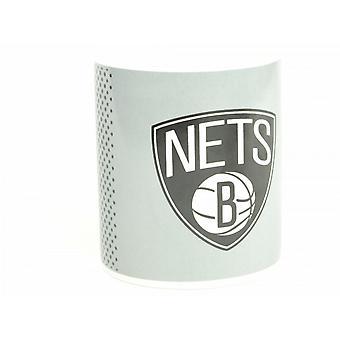 Brooklyn Nets NBA Official Fade Design Mug