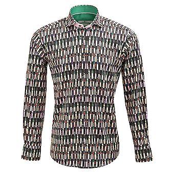 Claudio Lugli bastão imprimir Mens camisa