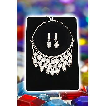 Bijoux et couronnes Set collier et boucles d'oreilles