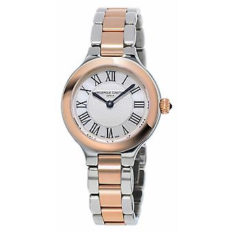 Frédérique Constant Classics Delight Womens Metal Bracelet Rose or plaqué montre FC-200M1ER32B
