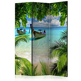 3-teiliges Paravent - Tropical Paradise [Room Dividers]