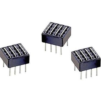 Würth Elektronik WE-MILS 742730023 Ferrite ponte 334 Ω (L x W x H) 11,2 x 11 x 11,2 mm 1/PC