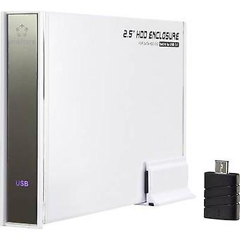 Renkforce RF-4315116 SATA HDD Gehäuse 2,5 Zoll USB 3.1