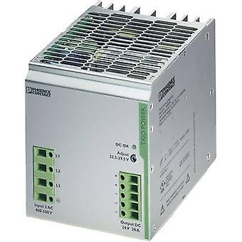 Phoenix Kontakt TRIO-PS/3AC/24DC/20 Schienennetzteil (DIN) 24 V DC 20 A 480 W 1 x
