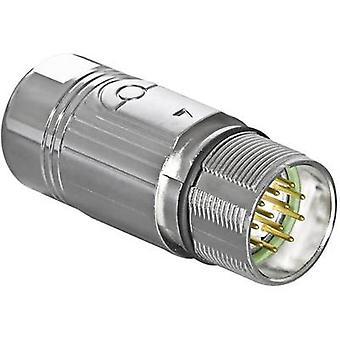 Intercontec AKUA012MR04410200C00 Contact connection: 0.14 - 1.0 mm² 7 A