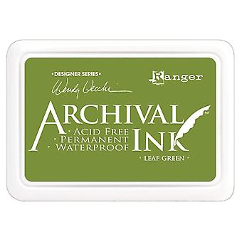 Wendy Vecchi Archival Ink Pad-Leaf Green