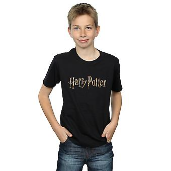 Harry Potter Boys Full Colour Logo T-Shirt