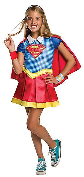 Supergirl DC super helten jenter Deluxe kostyme for barn barn kostyme opprinnelige