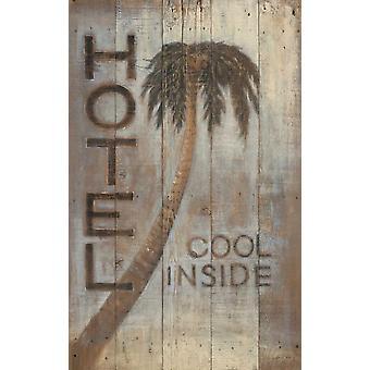 Palm Hotel Juliste Tulosta, jonka Arnie Fisk