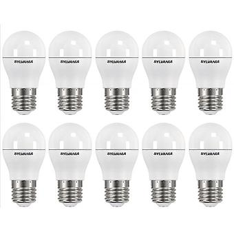 10 x Sylvania ToLEDo Ball Dimmable E27 V3 5.6W Homelight LED 470lm [Energy Class A+]