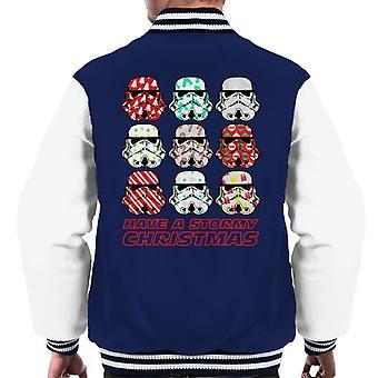 Original Stormtrooper Have A Stormy Christmas Men's Varsity Jacket