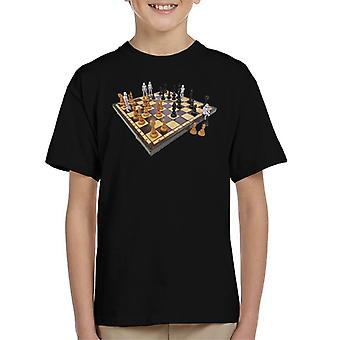 T-shirt original Stormtrooper Chess Board infantil