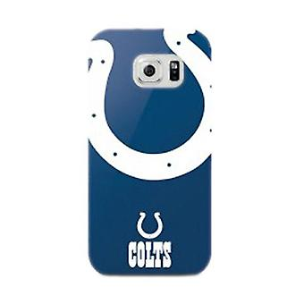 Mizco Sports NFL oversized SnapBack TPU Case voor Samsung Galaxy S6 Edge (Indiana Colts)