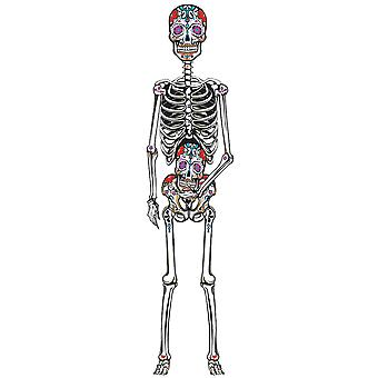 """Day of the Dead 60"""" Cut Out"""