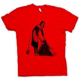 Barn T-shirt - Banksy graffitikonst - piga