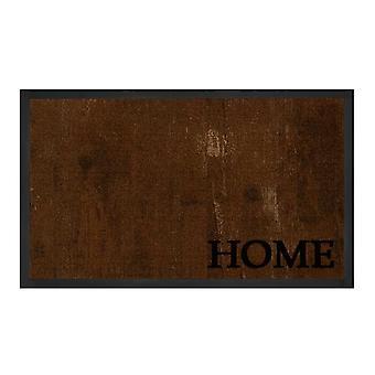 Tecla de captura suciedad Deluxe antracita marrón casa 45 x 75 cm