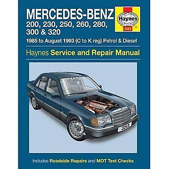 Mercedes-Benz 124 serie Service en reparatie handleiding (Haynes Service en reparatie handleidingen)