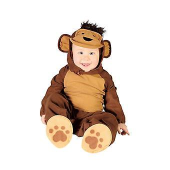 Pikkulapsille apina simpanssi naamiaispuku puku
