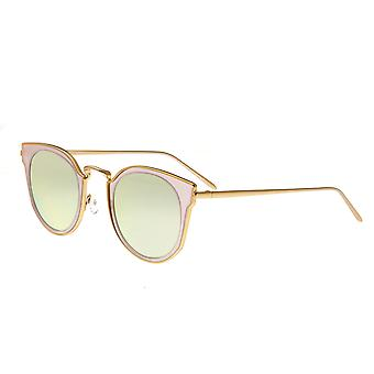 Bertha Harper Polarized Sunglasses - Gold/Pink