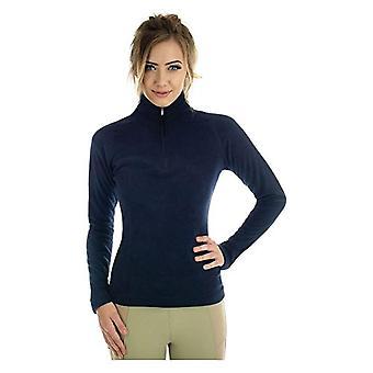 HyFASHION Womens/Ladies Basic Navy Fleece