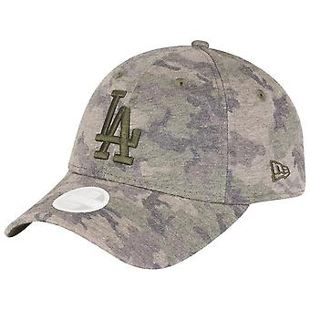 New era 9Forty ladies Cap - LA Dodgers JERSEY washed camo