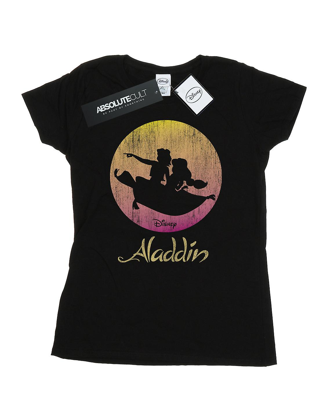 Disney Women's Aladdin Flying Sunset T-Shirt