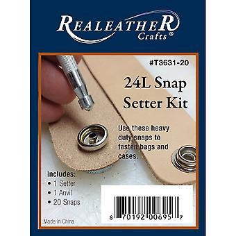 24L Snap Setter Kit nikiel