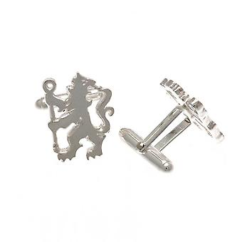 Chelsea FC Lion Sterling Silver Cufflinks