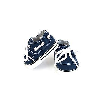 18「人形服ボートの靴、青