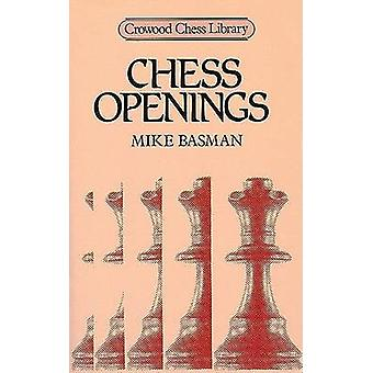 Chess Openings by Michael Basman - 9780946284740 Book