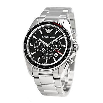 Emporio Armani Ar6098 Sigma cadran noir chronographe montre homme