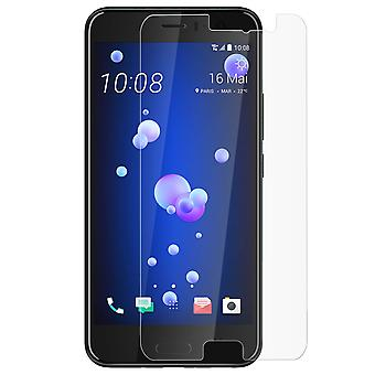 Tempered glass screen protector for HTC U11, 9H hardness, anti-explosion