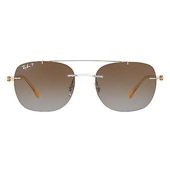 Ray-Ban transparant geel zonnebril RB4280-6288T5-55