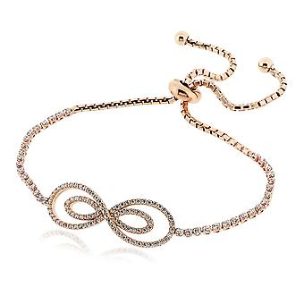 Orphelia Silver 925 Bracelet Rose Flexible  ZA-6007