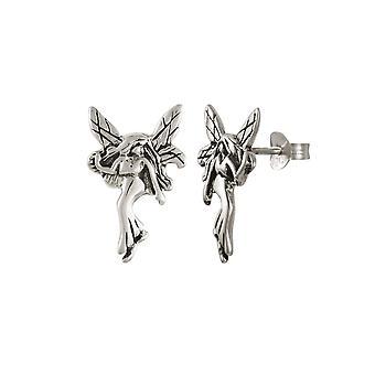 Wieczne kolekcja Fairy srebro Stud kolczyki Kolczyki