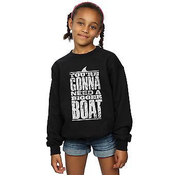Mindspark Girls Boat Quote Sweatshirt