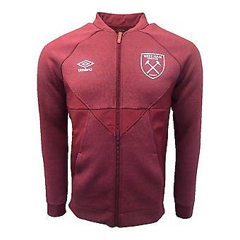 2019-2020 West Ham Presentation Jacket (New Claret)